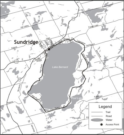 Lake Bernard Cycling Loop