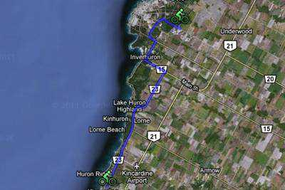 Kincardine to Bruce Power